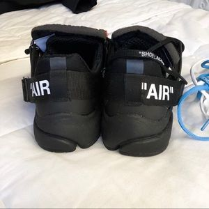 Off-White Shoes - Off White Black Presto